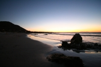 Sunset at Pringle Bay beach